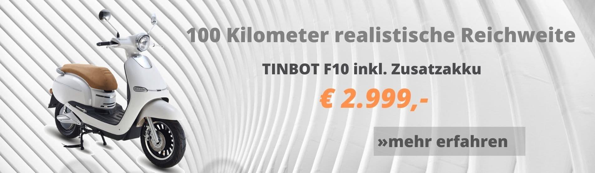 Tinbot mit zwei Akkus