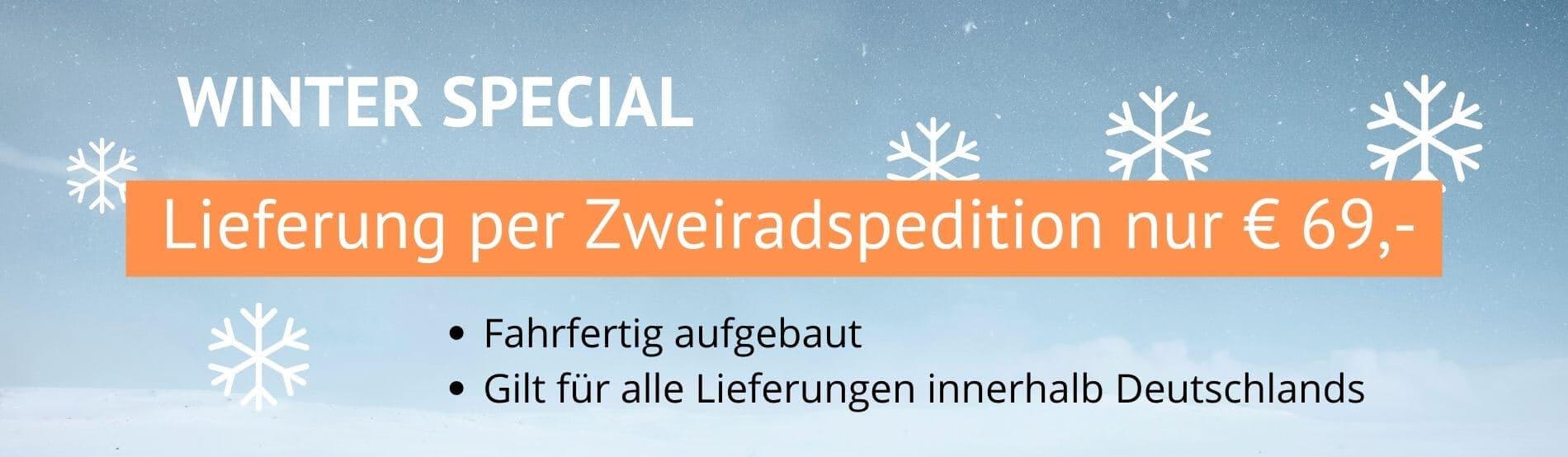 Winterspecial Lieferung